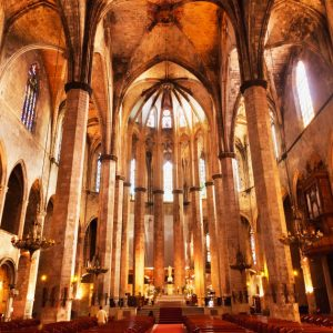 Santa Maria del Mar Wedding chruch