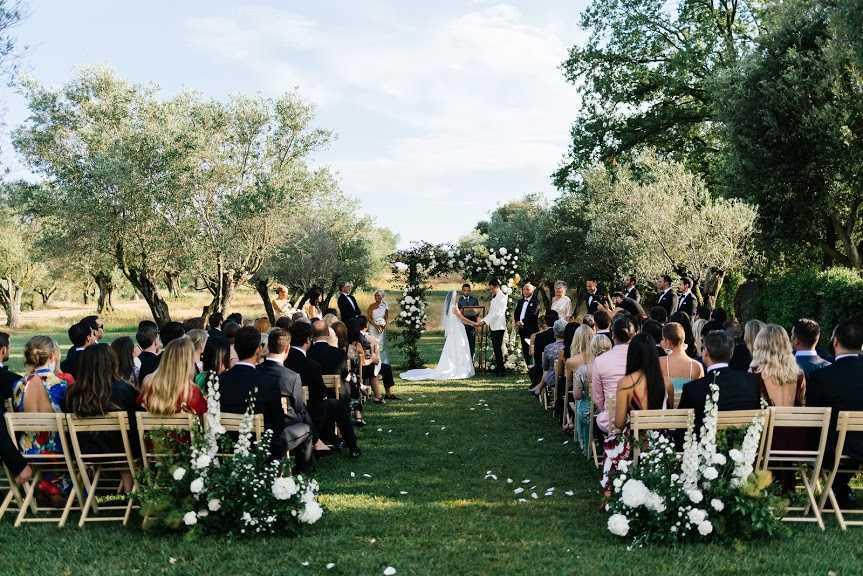 la boda en el castell de l'empordà