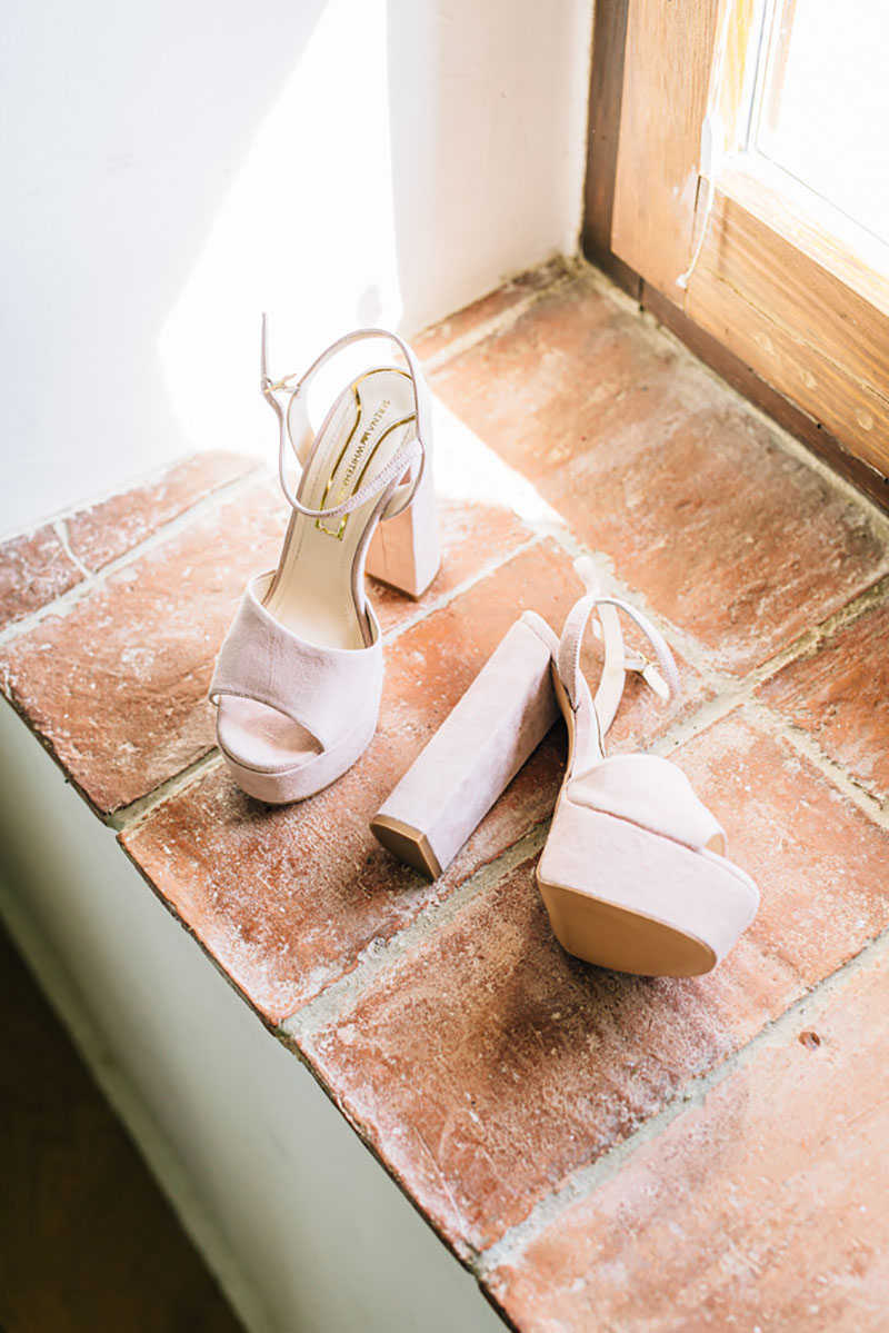 6 zapatos novia