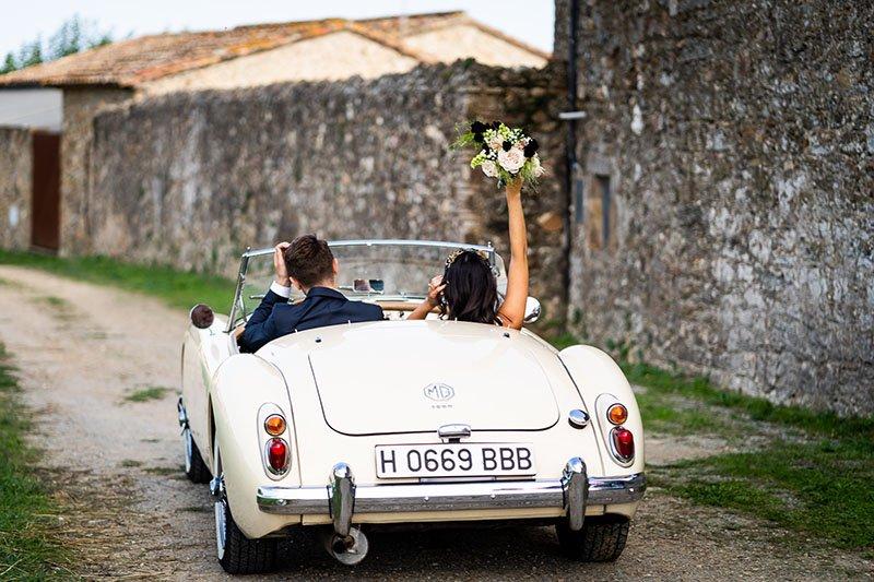 el cotxe de la boda