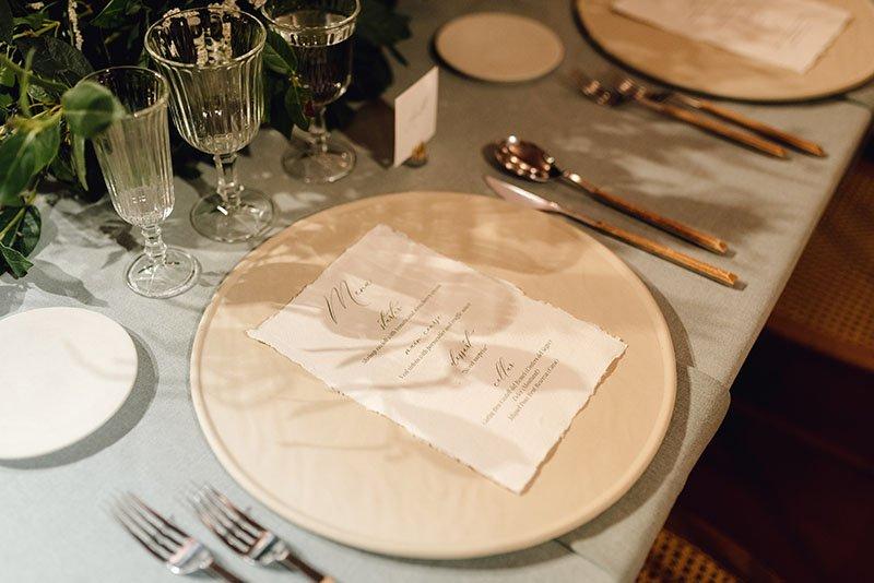 disposició taula boda