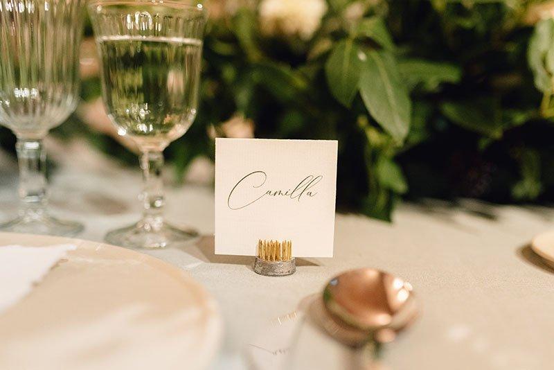 tarjeta nom convidats boda