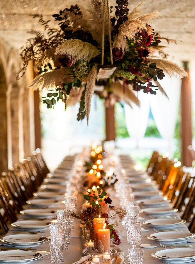 la taula de la boda