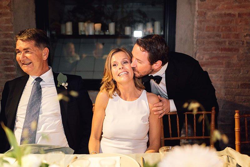 els convidats i la núvia