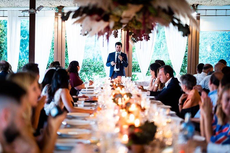 el discurs de la boda