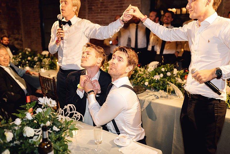 boys-acting-at-dinner