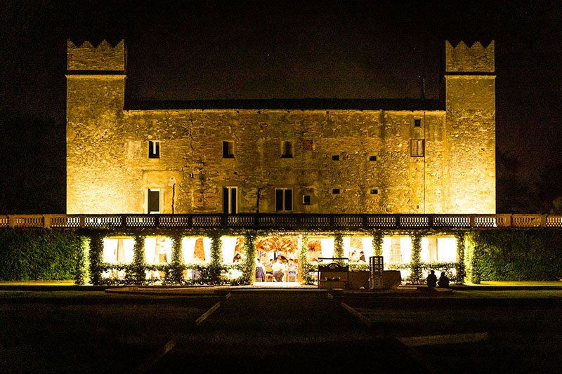 el castell de la boda de nit